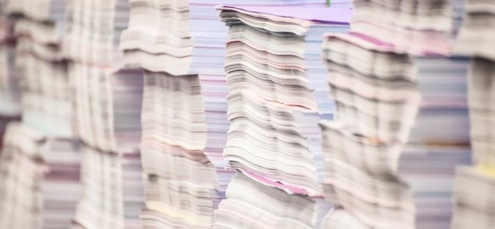 Stacks of paper Cut1